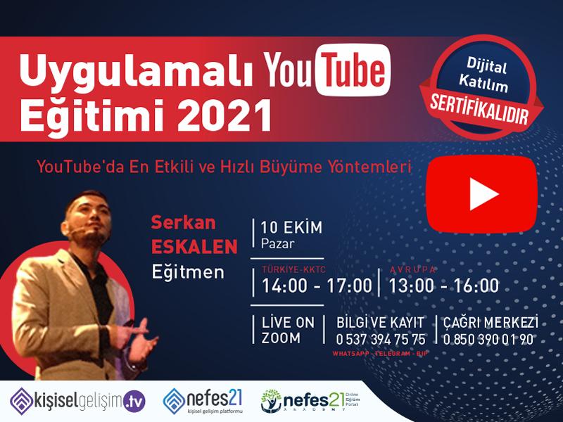 Uygulamalı Youtube Eğitimi 2021